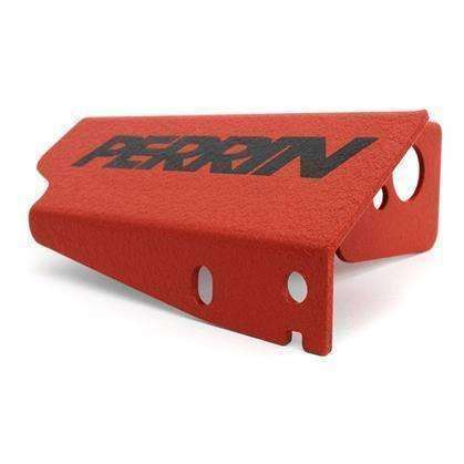 Perrin Boost Control Solenoid Cover Red - 2008+ Subaru STI - Draven Performance