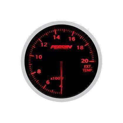Perrin Performance 60mm Exhaust Gas Temperature Gauge - Universal - Draven Performance