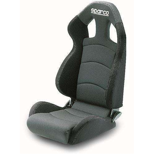 Sparco Seat Chrono Road Med Grey/Black - Draven Performance