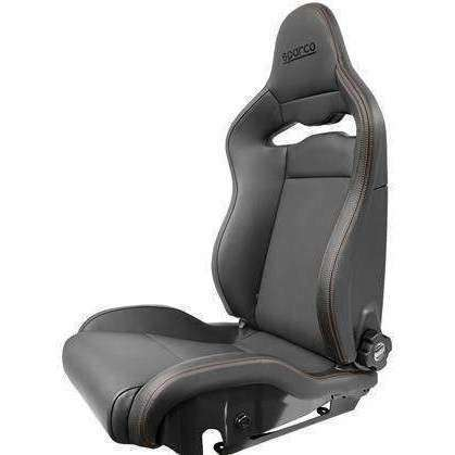 Sparco Seat SPX Leather/Alcantara Black - Draven Performance