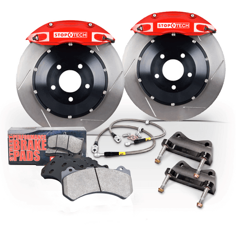 Stoptech ST-40 Slotted Front Big Brake Kit 355x32mm - 2015+ Subaru WRX - Draven Performance
