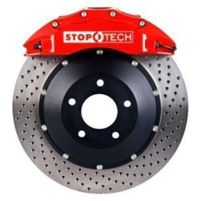 Stoptech ST-60 Big Brake Kit Front 355x32mm Red Drilled Rotors