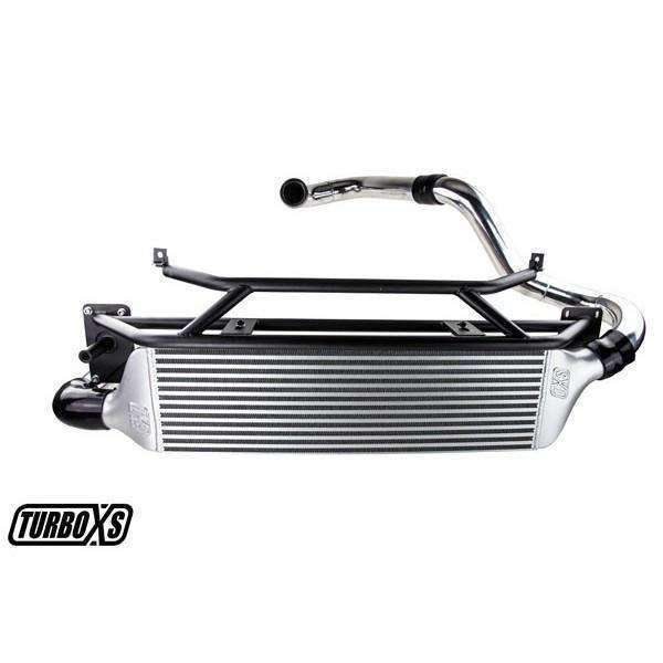 Turbo XS Front Mount Intercooler Kit - 2015+ Subaru WRX - Draven Performance