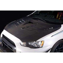 Load image into Gallery viewer, Varis Ver.2 Cooling Bonnet Carbon - Mitsubishi Evolution X - Draven Performance