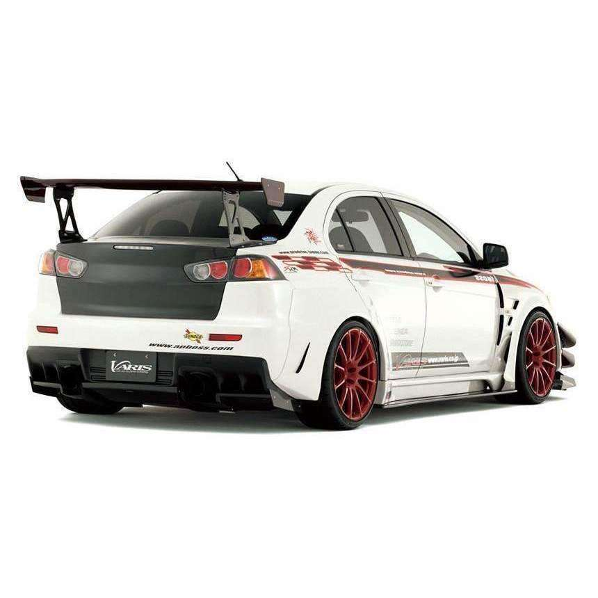 Varis Widebody Hitting Protector (R) VSDC Racing Diffuser - Misubishi Evolution X - Draven Performance
