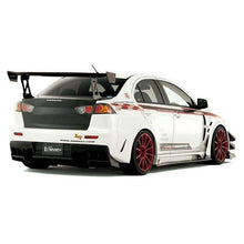 Load image into Gallery viewer, Varis Widebody Side Skirt w/Side Air Panel & Big Underboard Carbon Only- Misubishi Evolution X - Draven Performance