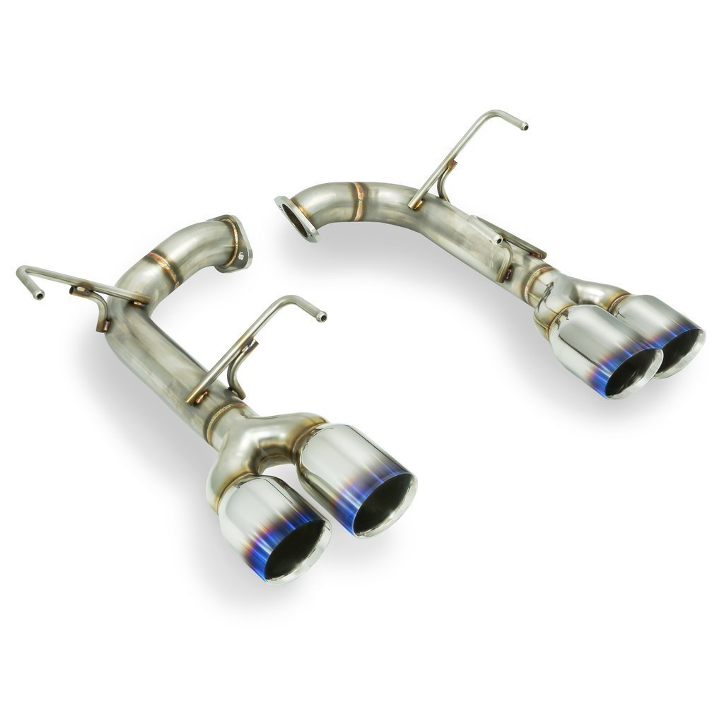 Remark Muffler Delete Burnt SS Double Wall Tip - 2015+ Subaru WRX | STI - Draven Performance