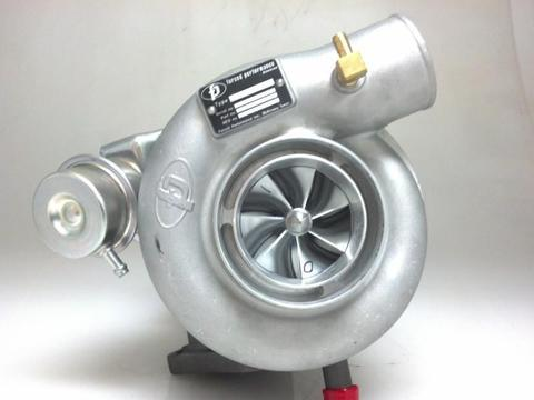 Forced Performance Black 82HTZ 8cm Journal Bearing Turbocharger - 2004+ Subaru STI | 2002-2014 WRX