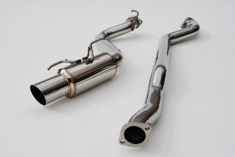Invidia HS08SW5GTR Racing Series Exhaust -  2008-2014 Subaru WRX Hatchback - Draven Performance