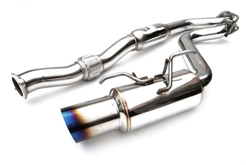 Invidia HS15SW4GTT N1 Single Titanium Tips Exhaust - 2015+ Subaru WRX | STI