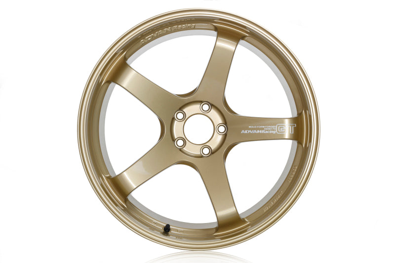 Advan GT Premium Version 21x12.5 Center Lock +47mm Racing Gold Metallic