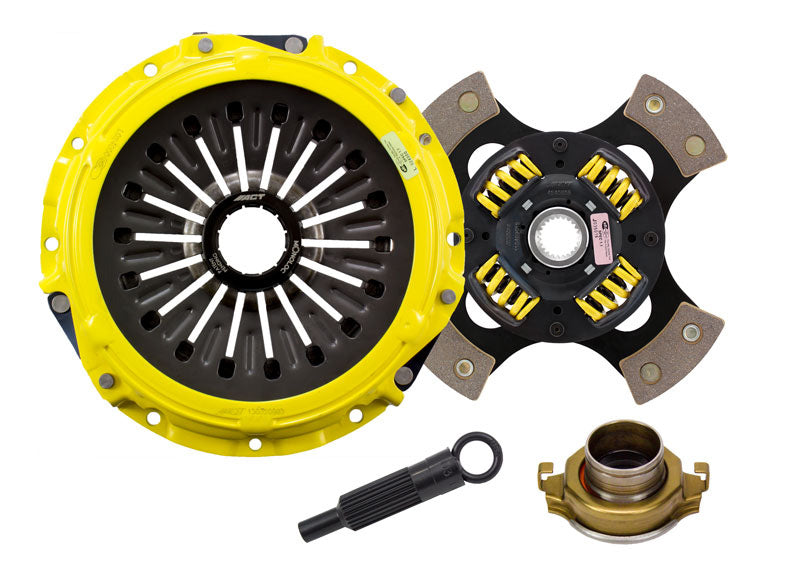 ACT Heavy Duty 4 Puck Sprung Disc Clutch Kit ME3-HDG4 - Mitsubishi Evolution X - Draven Performance