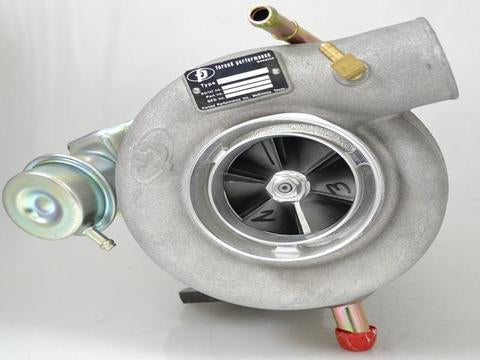 Forced Performance Red 79HTZ 8cm Journal Bearing Turbocharger - 2004+ Subaru STI | 2002-2014 WRX