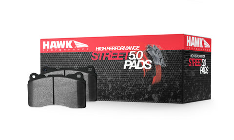 Hawk HPS 5.0 Rear Brake Pads - Mitsubishi Evolution X - Draven Performance