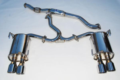 Invidia HS11STIG3S Q300 Cat Back Exhaust | 2011-2014 Subaru WRX & STI Sedan - Draven Performance
