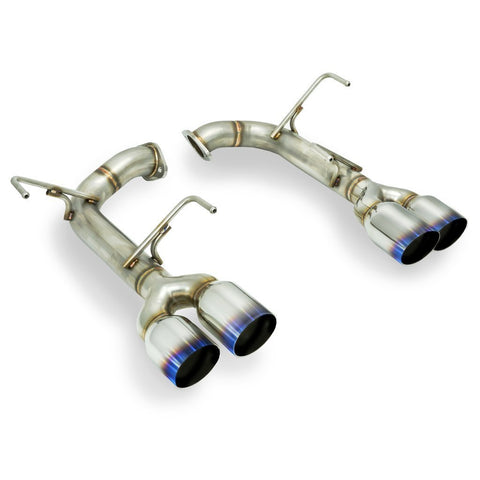 Remark Muffler Delete Burnt SS Single Wall Tip - 2015+ Subaru WRX | STI - Draven Performance