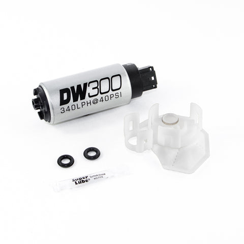 DeatschWerks DW300C 340LPH Fuel Pump w/ Install Kit - Mitsubishi Evolution X - Draven Performance
