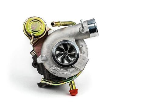 Forced Performance Blue 73HTZ 58mm Journal Bearing Turbocharger - 2004+ Subaru STI | 2002-2014 WRX
