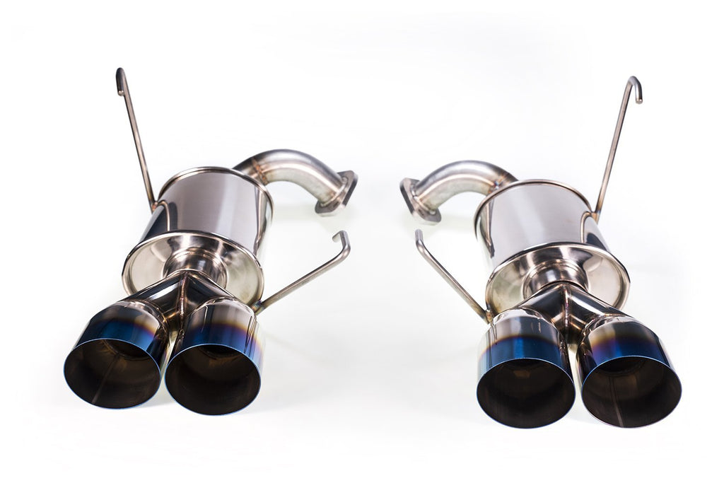 MAP Axle-Back Exhaust - 2015+ Subaru WRX | STI - Draven Performance