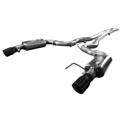 "Kooks 3"" Exhaust w/ X Pipe (Black Tips) 