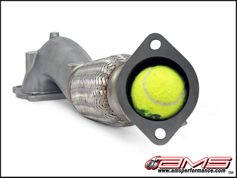 AMS Performance Pre-Cat Widemouth Downpipe - Mitsubishi Evolution X - Draven Performance