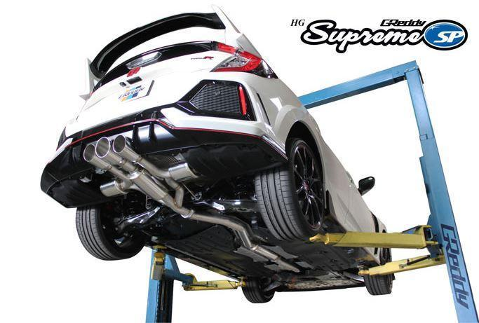 GReddy Supreme SP HG Exhaust System - 2017+ Honda Civic Type R - Draven Performance