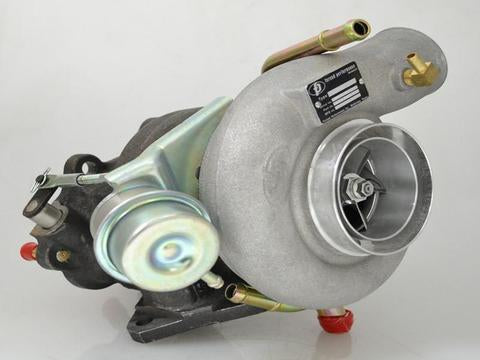Forced Performance Red 10cm Journal Bearing Turbocharger - 2004+ Subaru STI | 2002-2014 WRX - Draven Performance