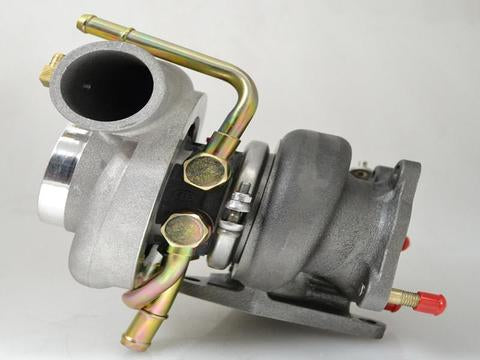 Forced Performance Black 82HTZ 8cm Journal Bearing Turbocharger - 2004+ Subaru STI | 2002-2014 WRX - Draven Performance
