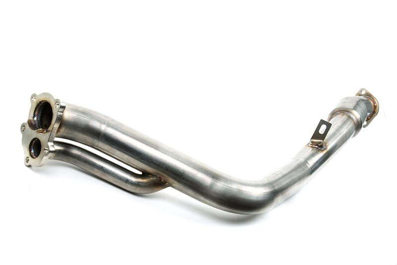 GrimmSpeed Catted Downpipe -  2008+ Subaru STI - Draven Performance