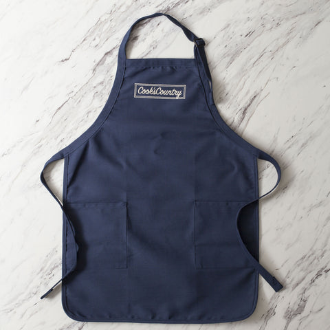 Cook's Country Embroidered Apron