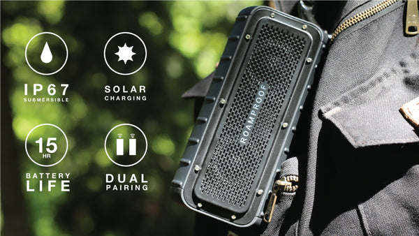 MacroBoom || The Most Rugged Solar Speakers On Earth - Designclusive