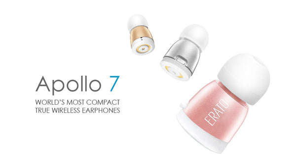 Apollo 7 :  World's Most Compact True Wireless Earphones - Designclusive