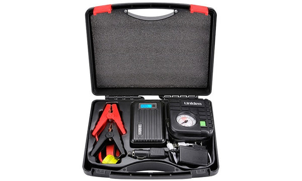 CAR JUMP STARTER WITH AIR COMPRESSOR - Designclusive