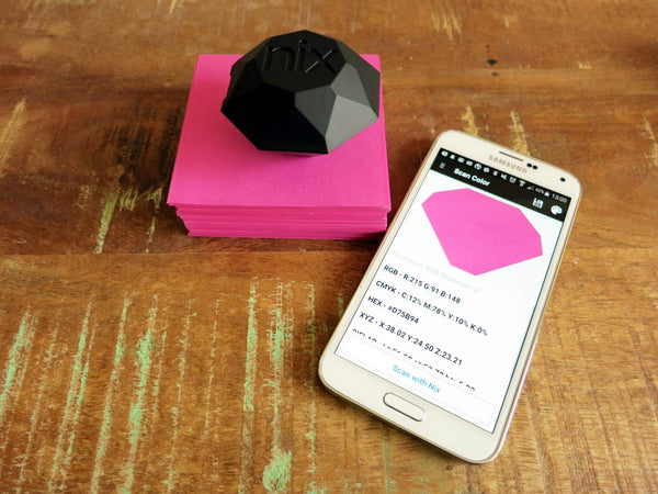 Nix Pro : Measure the exact color of everything you see