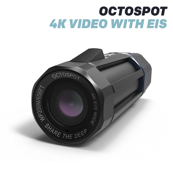 OCTOSPOT DIVE CAMERA : THE GREATEST ACTION CAMERA FOR DIVING