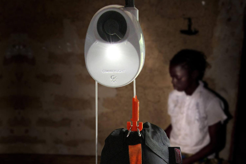 GravityLight: lighting for developing countries. - Designclusive