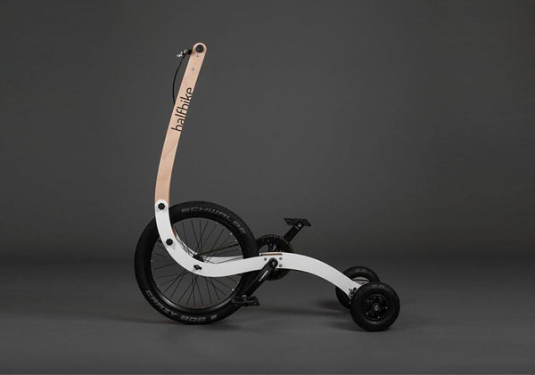 Half Bike, The New Great Design for Cycling and Fun - Designclusive