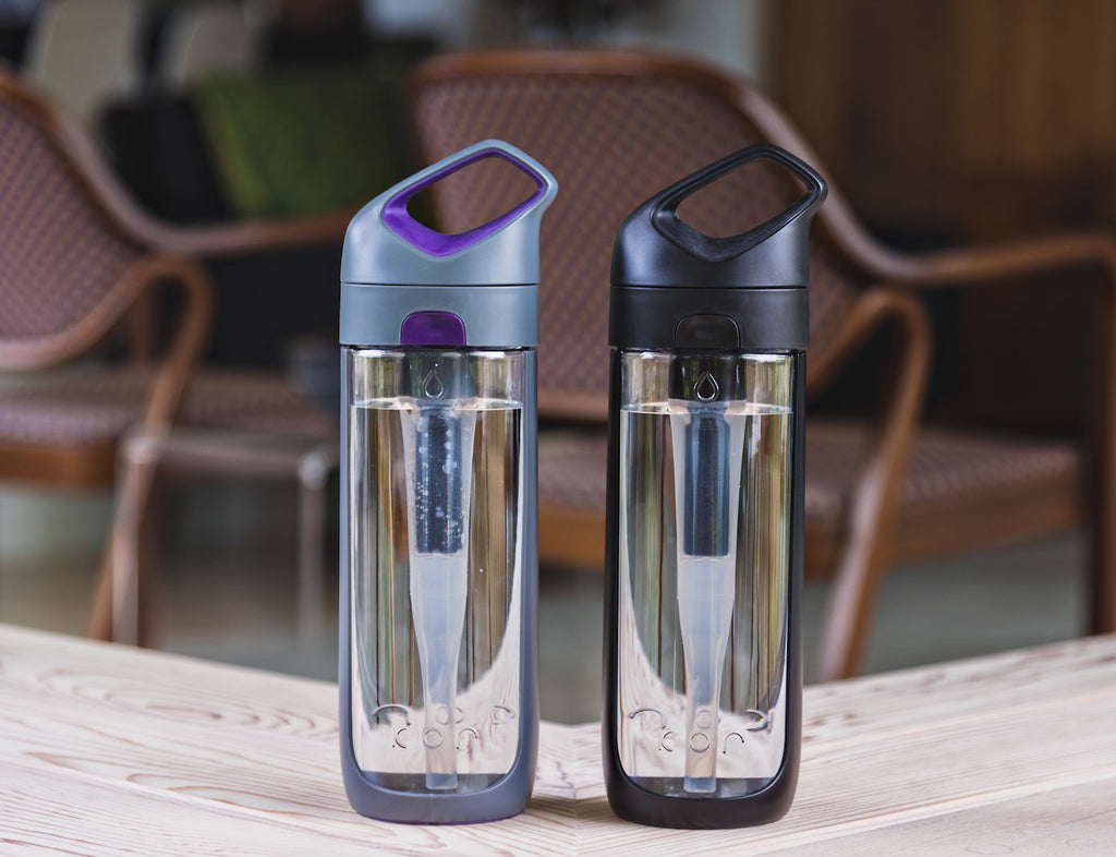 Kor - Water Filter Bottle - Designclusive