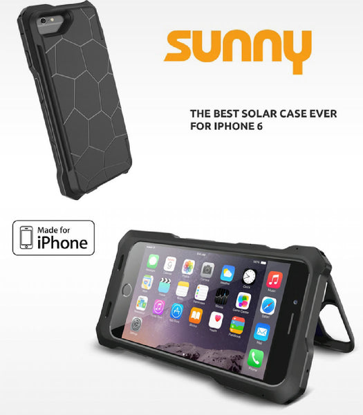 SUNNY - The best solar case ever made