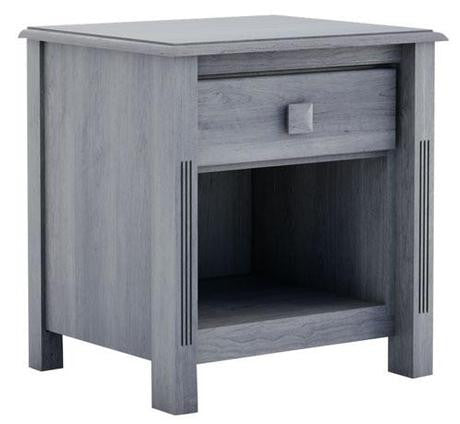 College Woodwork · Pembroke 1 Drawer Night Table
