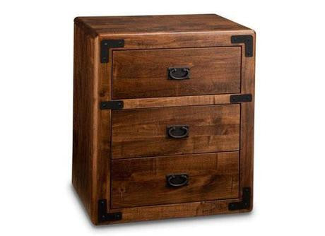 Saratoga 3 Drawer Night Stand