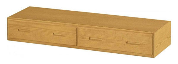 2 Drawer Under Bed Storage Unit