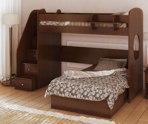 L-Shaped Bunk Beds