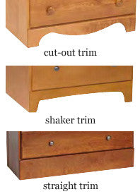 "Dover 3 Drawer Chest, 25""w"