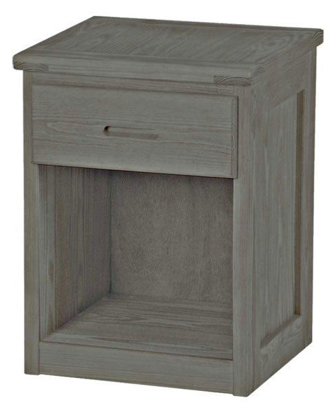 Graphite 1 Drawer Tall Night Table