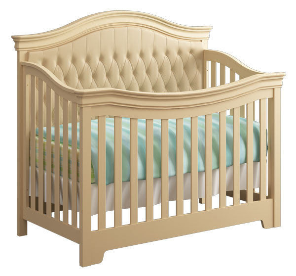 Lexington Convertible Crib with Tufted Panel