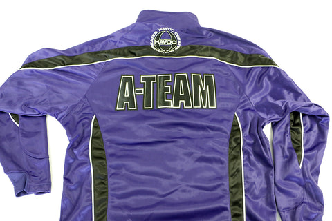 Team Boo Boo Jacket Purple