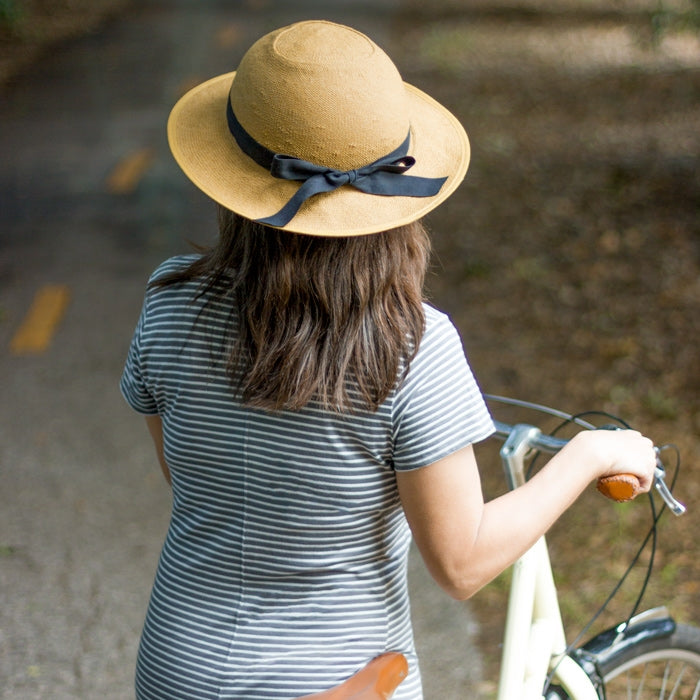 Remaking a classic: the Straw Hat Bike Helmet