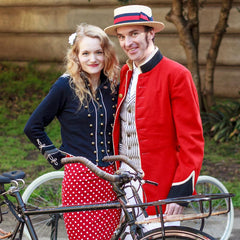 SF Tweed Best Dressed Couple: Kelly and Christian