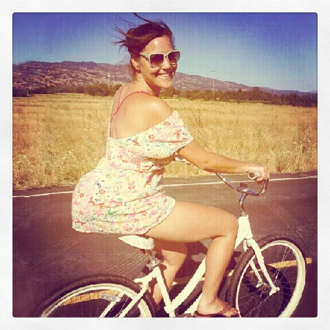 Biking in Napa